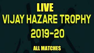 live cricket match streaming Maharashtra vs vidarbha  Vijay Hazare Trophy