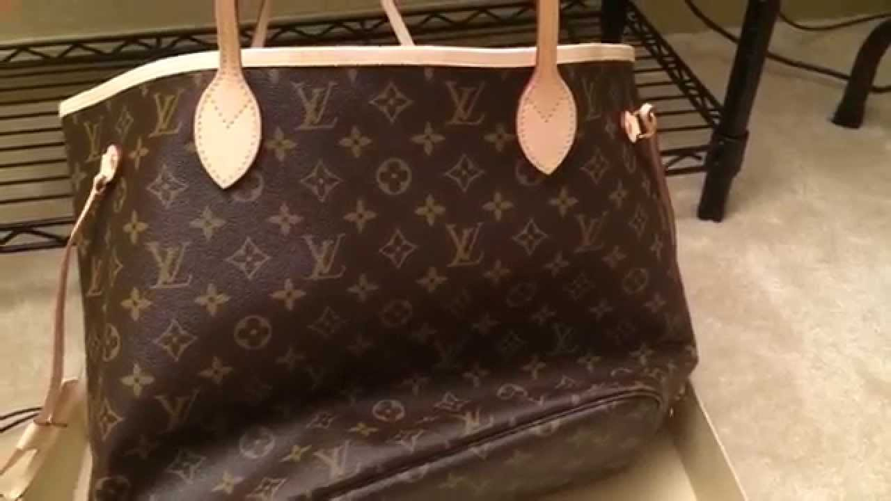 46886ec50563 Louis Vuitton New a Neverfull MM Monogram!!!! Unboxing - YouTube
