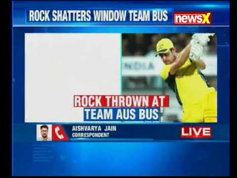 Guwahati: Australian team bus attacked after 2nd T20; Aron Finch posts shocking picture
