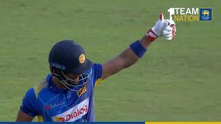 Dinesh Chandimal 80 vs England in 5th ODI at RPICS