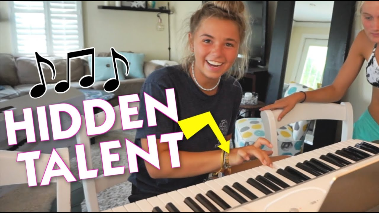 WHO KNEW SHE COULD PLAY PIANO? | WE'RE STARTING A BAND