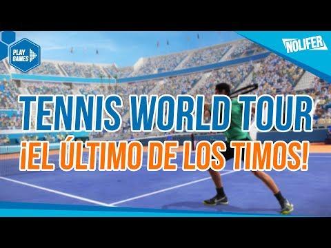 Tennis World Tour ¡LA MAYOR BASURA DEL AÑO! ¡CORRED INSENSATOS!