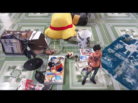 Đập hộp combo mô hình và đồ chơi one piece cực chất | Đại Luffy