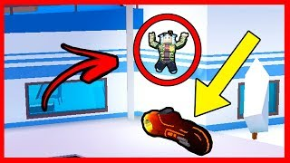 THE MOST RARE TIP TO DO WITH MOTORCYCLE IN JAILBREAK - ROBLOX