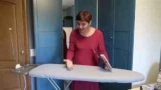 Чехол для гладильной доски почему поменяла металлик на текстильный