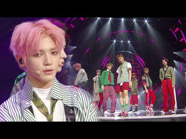 《POWERFUL》 NCT 127 - Cherry Bomb @인기가요 Inkigayo 20170702