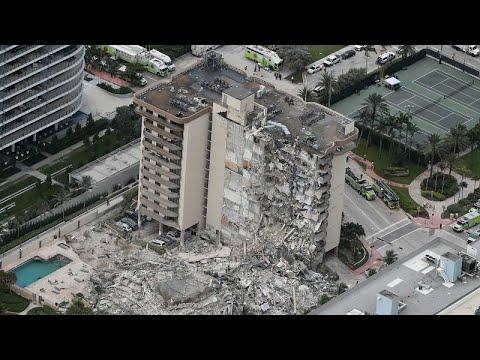 شاهد: انهيار جزئي لبرج سكني في ميامي يسقط ضحية على الأقل وعمليات بحث متواصلة عن ناجين…  - نشر قبل 43 دقيقة