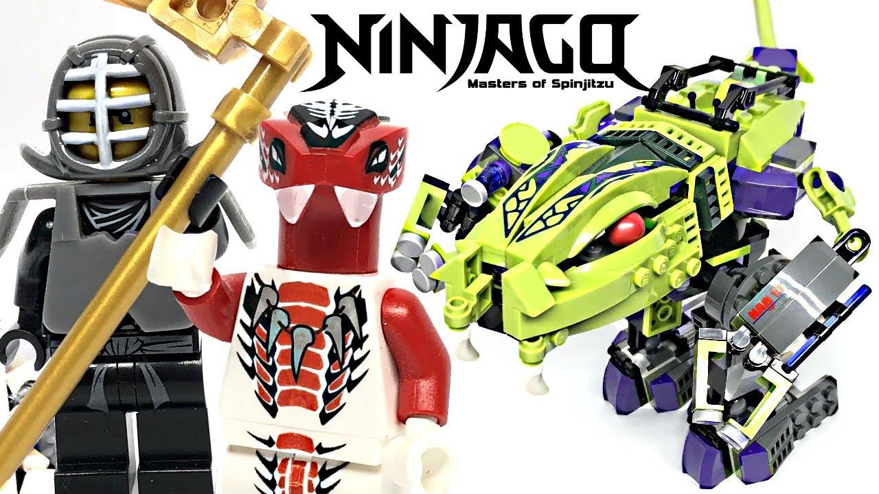 LEGO Ninjago Fangpyre Mech review! 2012 set 9455