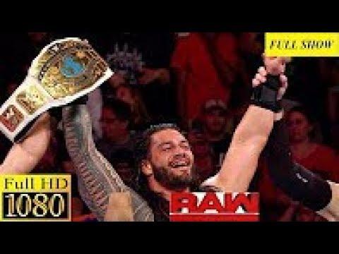 Download WWE Raw 21 November 2017 Full Show HD   WWE Monday Night Raw 11 21 2017 Full show