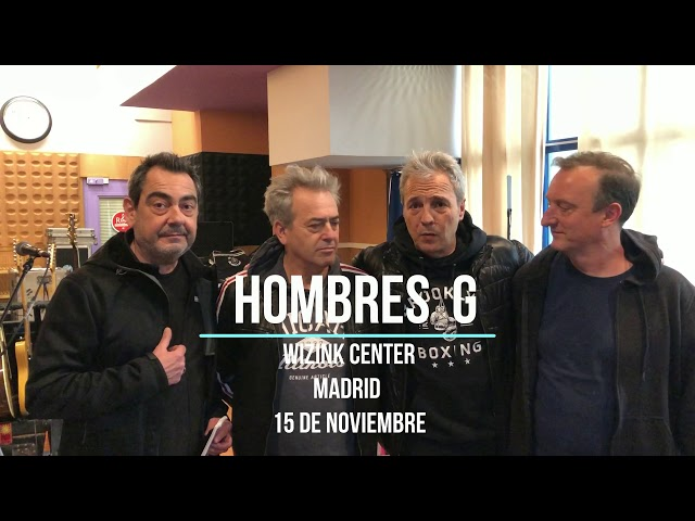 Hombres G 15 Noviembre 2019 Wizink center Madrid