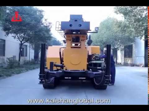 kw30 Multi-function Water Well Drilling Rig, bore well drilling machine