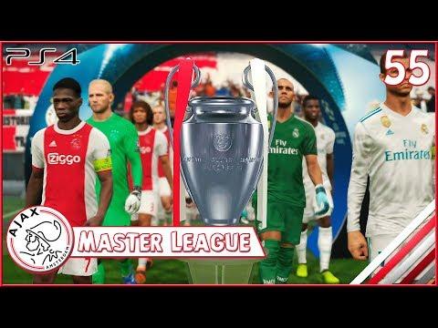 MASTER LEAGUE #55 - A GRANDE FINAL DA CHAMPIONS LEAGUE !!! [PES 2018]