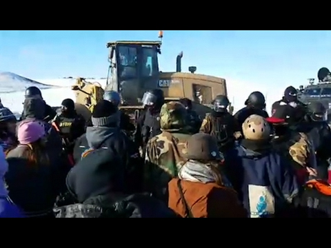 Dozens Arrested at Standing Rock as Veterans Vow to Block Completion of Dakota Access Pipeline