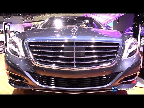 2016 Mercedes Benz S Class S550 4Matic - Exterior & Interior Walkaround - 2015 LA Auto Show