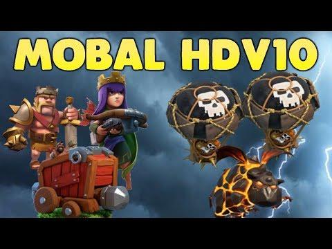 Clash Of Clans - HDV10 DÉMOLISSEUR - MOBAL (Molosse Ballons)