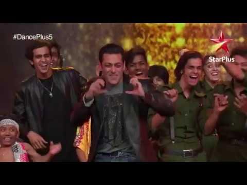 Salman Khan Dance |dance Plus Show |dance +5 |salman Khan Videos|star Plus |