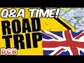 ROAD TRIP TRUCK VLOG   Answering Questions   CIRENCESTER ADVENTURE