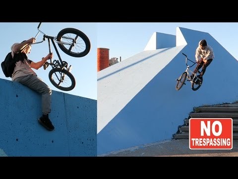DailyCruise19: BEST FORBIDDEN NYC SPOTS (BMX)