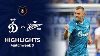 Highlights Dynamo vs Zenit (0-2)