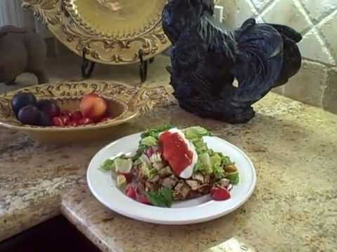 San Jose Weight Loss Recipe: Chicken Tostada