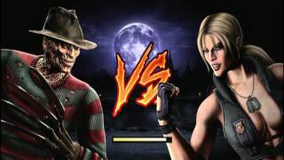 Mortal Kombat (2011) Freddy Krueger Playthrough part 1/2