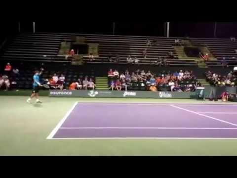 Malek Jaziri vs. Gilles Simon Indian Wells BNP 2015