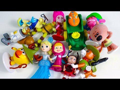 Игрушки Сюрпризы Угадай Мультик Видео для детей Киндер Сюрпризы Мультики для детей