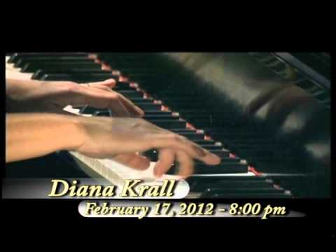 Diana Krall comes to the Sandler Center!