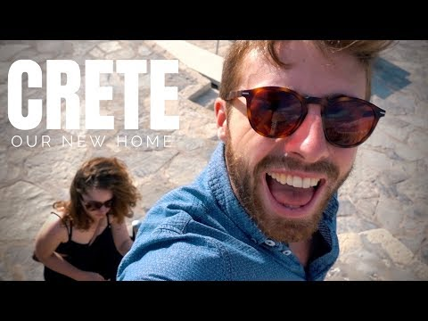 EXPLORING HERAKLION, CRETE || OUR NEW GREEK HOME || TRAVEL GREECE