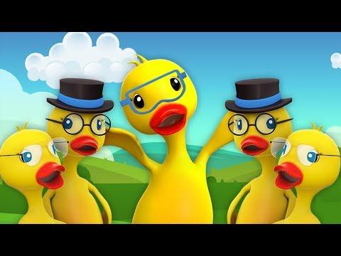 lima-bebek-besar- -lagu-anak-anak- -five-big-ducks- -farmees-indonesia- -lagu-anak- -kids-song