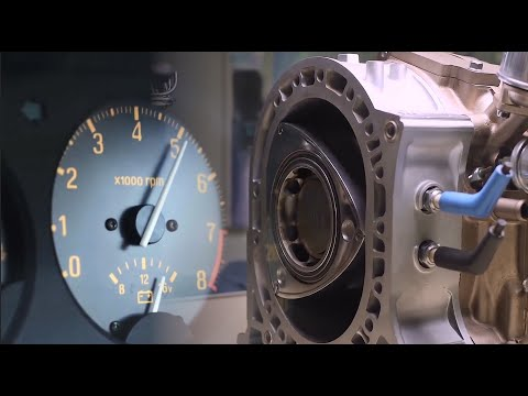 Cómo funciona el motor rotativo Wankel Mazda, ventajas y desventajas.