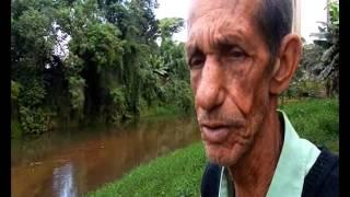 Destaque Popular   Mortandade de peixes   rio Bananal   21 junho 14