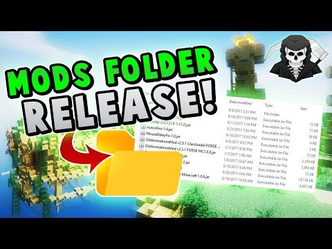 RELEASING MY MODS FOLDER v2 (99% Hypixel Approved Mods)