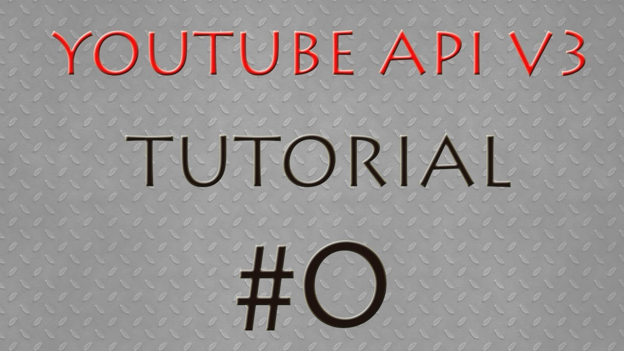 Youtube API Javascript