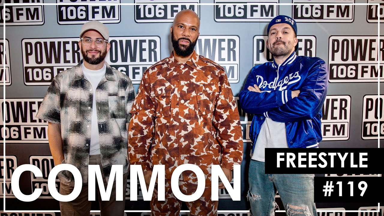"""Common Spits 8-Minute Freestyle Over Raekwon's """"Incarcerated Scarfaces"""" & Group Home's """"Livin Proof"""""""
