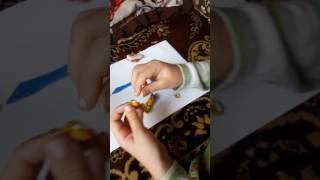 Видеоурок как слепить Fnaf World золотого фредди