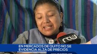 LIGERO INCREMENTO SE REGISTRA EN LOS MERCADOS DE LA CAPITAL