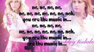 You are the music in me Sharpay Version Lyrics