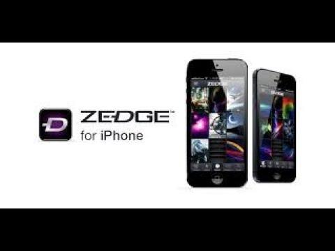 Zedge For IPhone Tutorial
