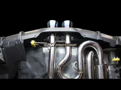 ISR Veloster Turbo Exhaust Race and Street Versions