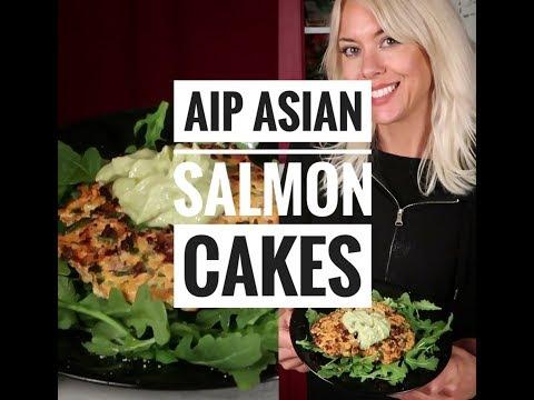 AIP Salmon cakes