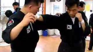 Gongkwon yusul instructor  seminar training(1) (Korea jiu jitsu Hapkido)