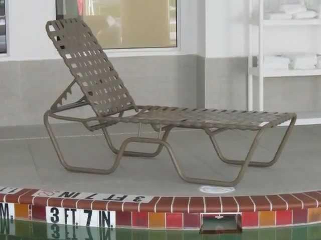 to restrap pool furniture