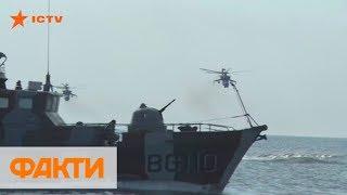 Корабль приготовился к бою: провокация РФ во время учений на Азове