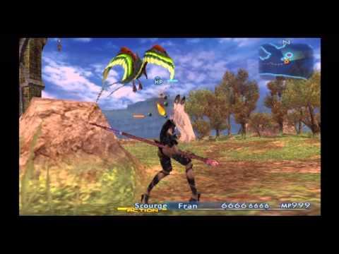 Final Fantasy XII IZJS Perfect Game - Almost Perfect HP/MP Fran Lv.99 Black Mage