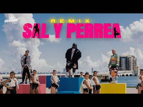 Смотреть клип Sech, Daddy Yankee, J Balvin - Sal Y Perrea Remix