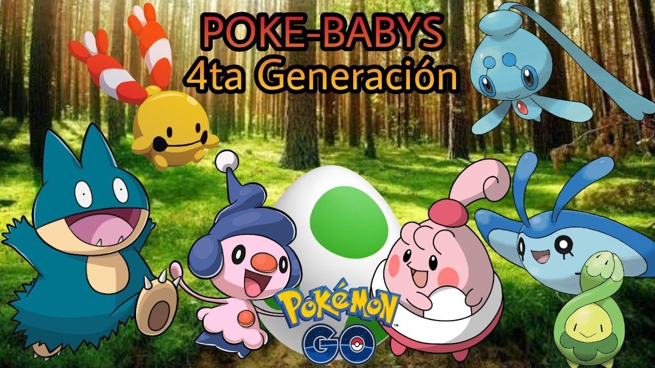 CONOCE A LOS NUEVOS BABY POKEMON DE CUARTA GENERACIÓN POKEMON GO ...