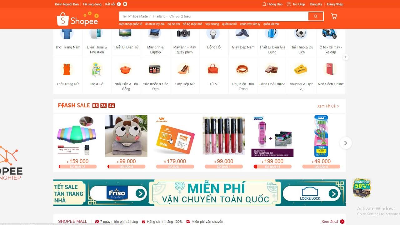 Autoshopee Phần mềm bán hàng shopee p1