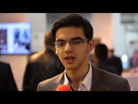 Olympiad Tromsø 2014 - A Quick Chat With Anish Giri