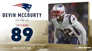 #89: Devin McCourty (FS, Patriots) | Top 100 Players of 2019 | NFL
